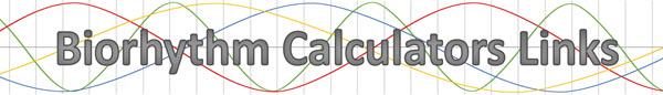 biorhythm calculators links