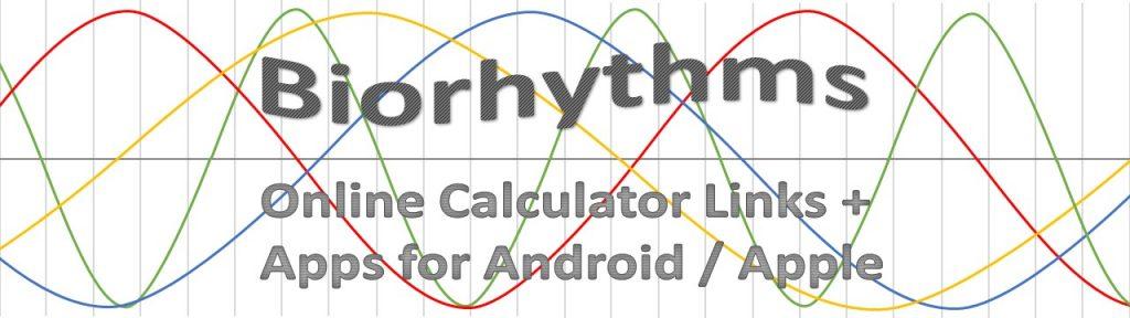 biorhythm calculator links