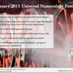 February 2015 Numerology Forecast – Full Steam Ahead