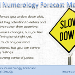 March 2015 Numerology Forecast – Slow Down