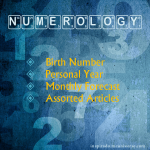 Numerology – Personal Year