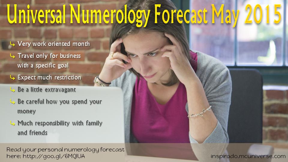 may 2015 numerology forecast