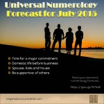 July 2015 Numerology – Commitment Time
