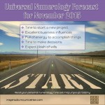 November 2015 Numerology – New Project