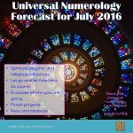 July 2016 – Numerology – Let Go