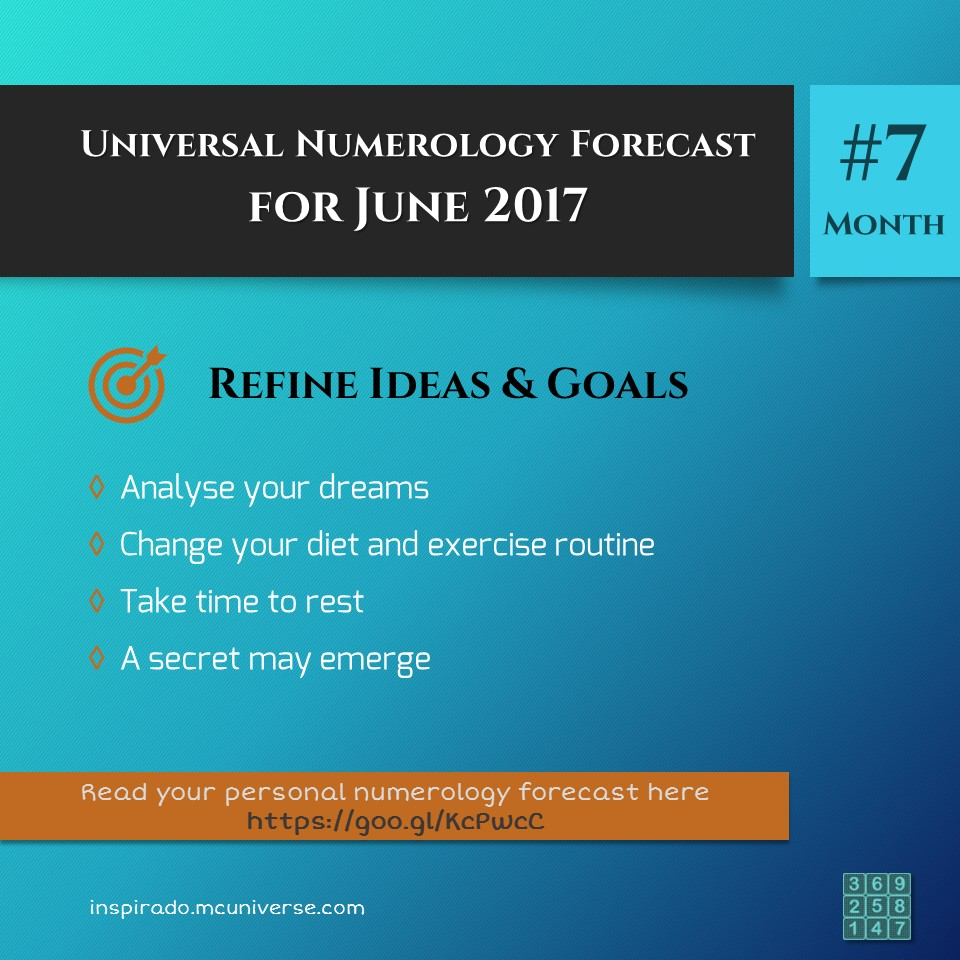 June 2017 Numerology Forecast